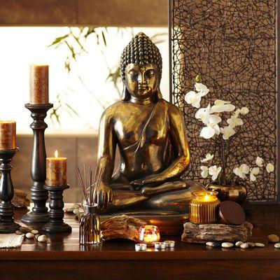 Wohnzimmer Buddha Style. Wandbilder Xxl Buddha Wald Wasserfall ...