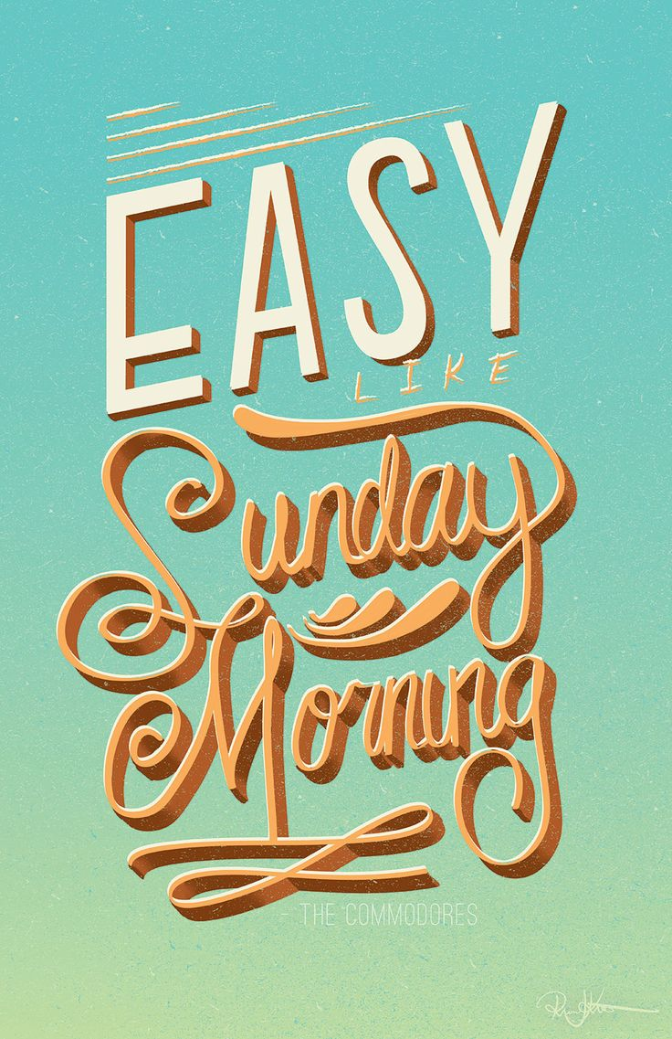 Easy like Sunday morning - who's singing the Lionel Richie version in their heads?
