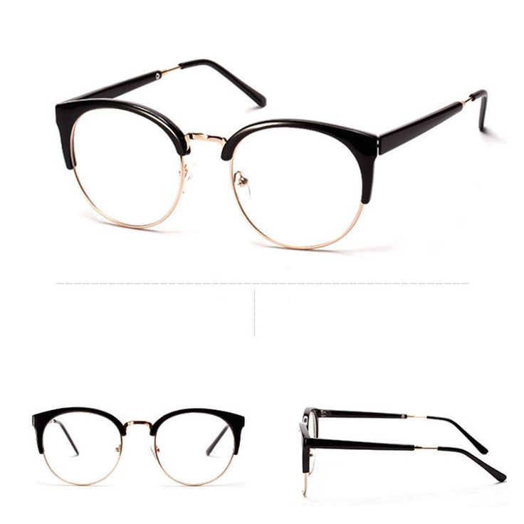 Plastics Alloy Super Cool glasses frame Patchwork Good oculos eyeglasses 2015 New for women n693(China (Mainland))