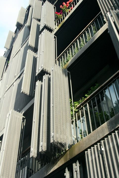 Herzog & de Meuron, Rue des Suisses Apartment Buildings, Paris, France, 2000