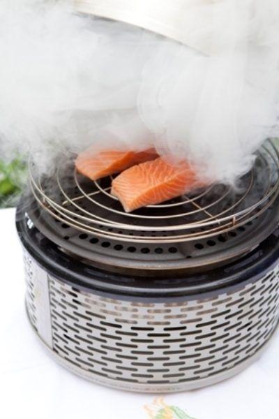 De barbecue die alles is: veilig, zuinig, veelzijdig, in 3 minuten heet en... overal te gebruiken.