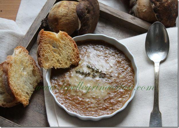 Le pellegrine Artusi: Crema di porcini, zucca e patate