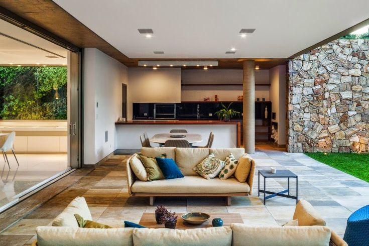 30 Áreas de churrasco/gourmet integradas à casa – veja modelos modernos   dicas!