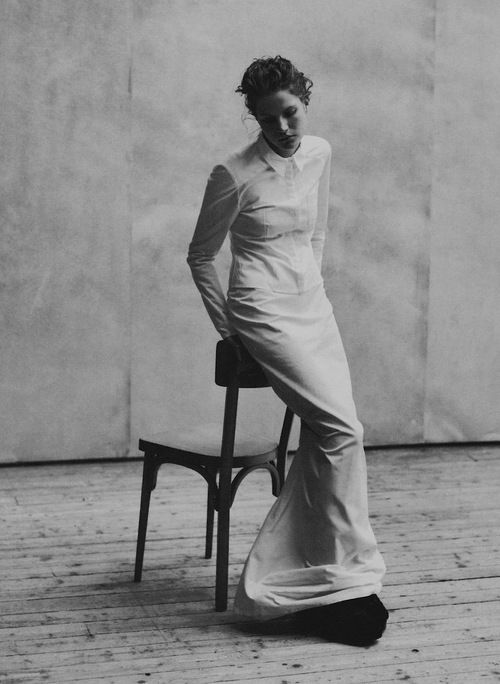 Mini Anden by Peter Lindbergh for Vogue Italia, May 1997