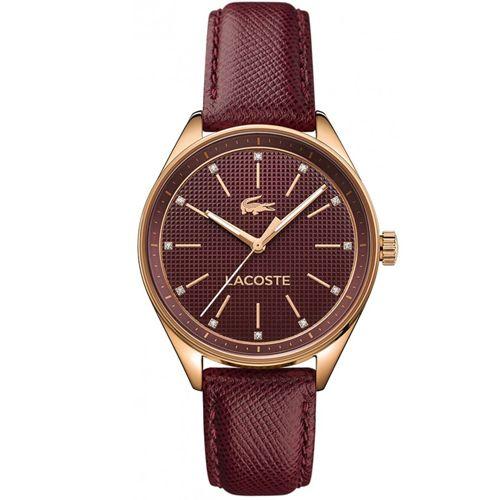 Relógio Lacoste Feminino Couro Vermelho - 2000934