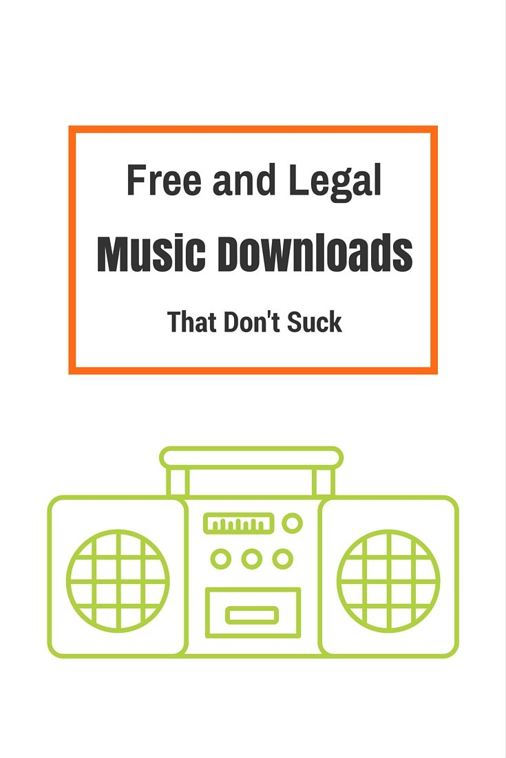 Feel great about downloading free legal music from these websites.
