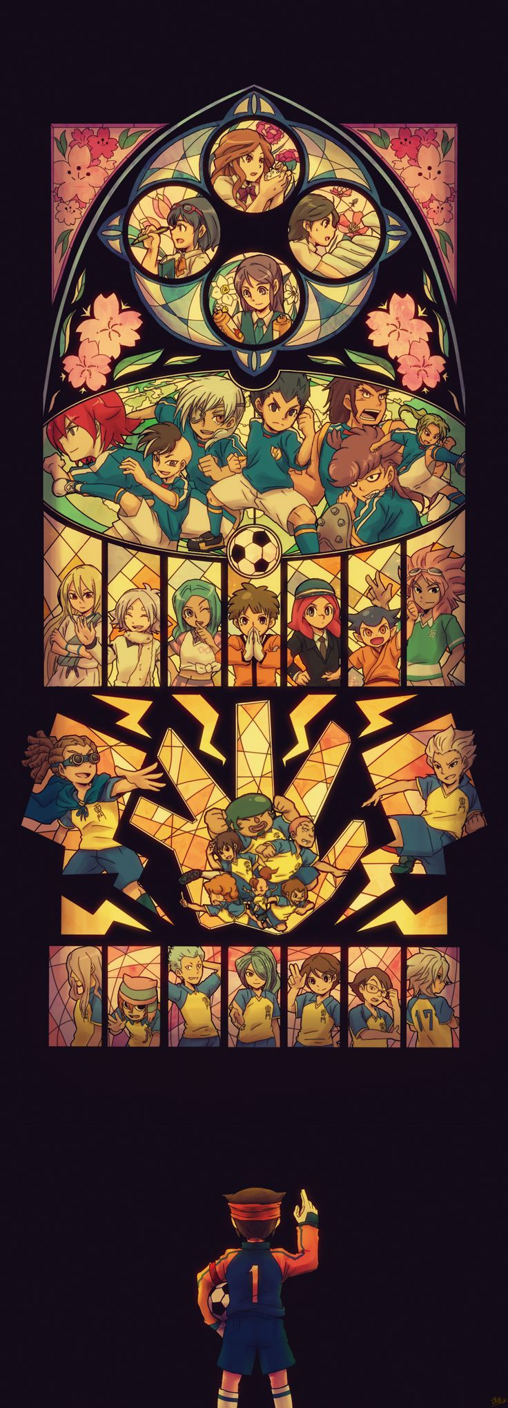 Not mine. The most beautiful art I've ever seen. Love you, Inazuma Eleven. ❤