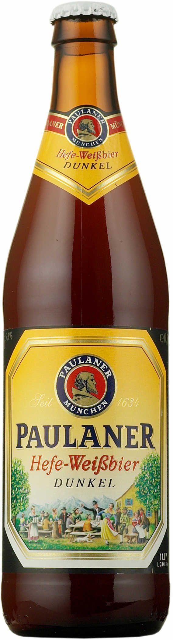 Paulaner - Weiss beer (one of my absolute favorites)!