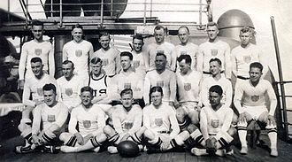 1920 US olympic rugby union team.