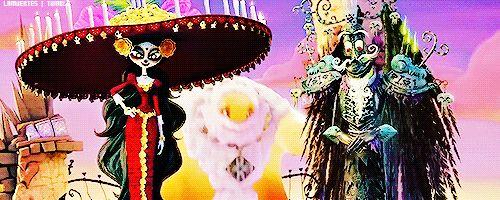 La Muerte, Xibalba, and the Candlemaker