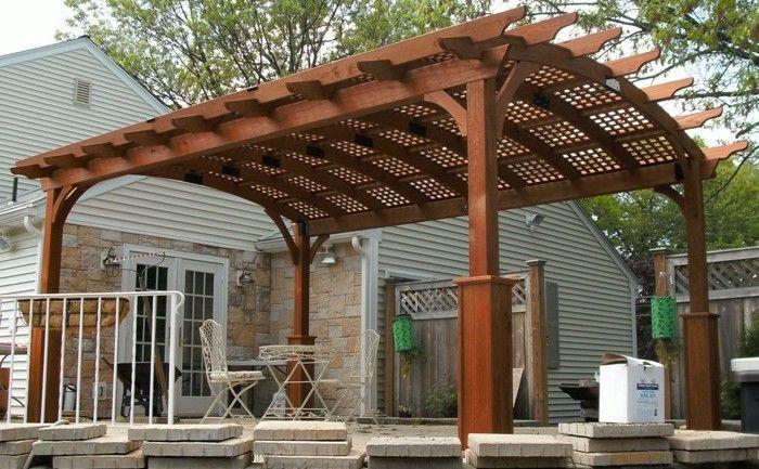 1000 ideas about wood pergola on pinterest pergola for Amish garage builders cleveland ohio