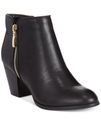 Style&co. Jamila Zip Booties, Only at Macy's $59.63 Button up your look with this short and chic style. The Jamila booties feature metallic zippers on both sides.