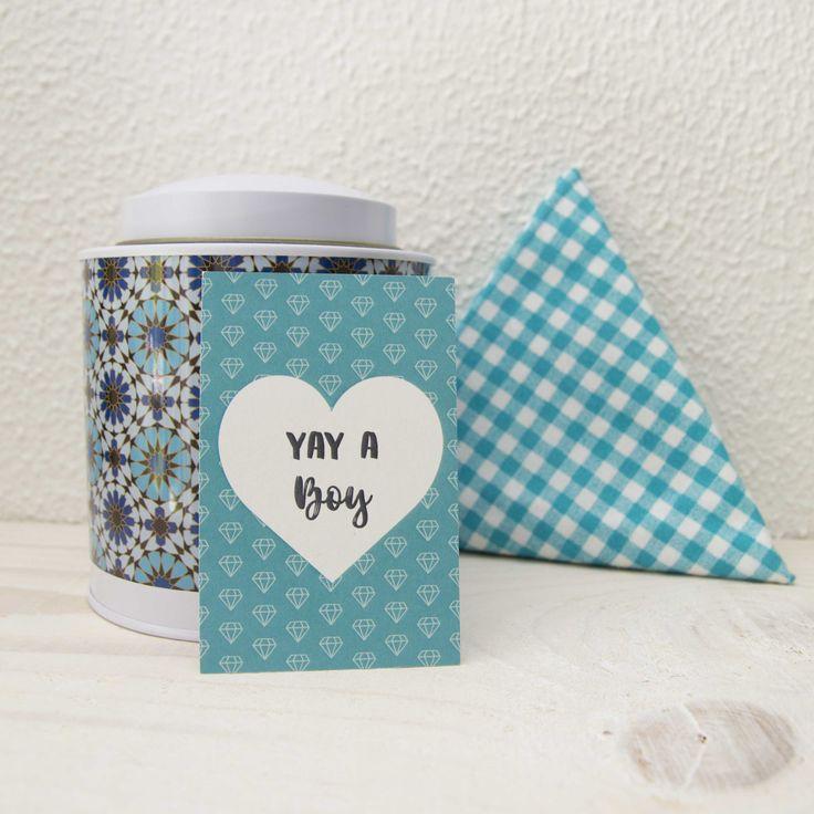 Label Yay a boy