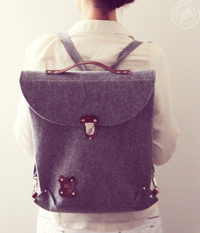 Plecak - torba SILVERBACK. (proj. Javore), do kupienia w DecoBazaar.com