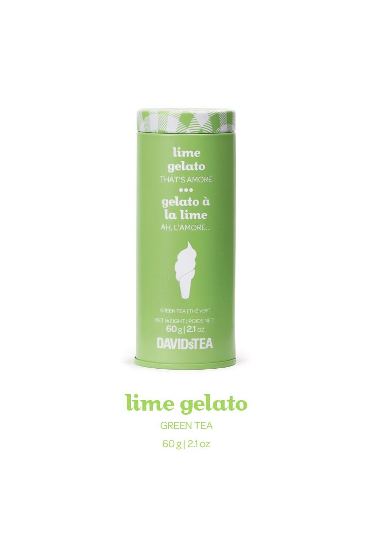 A sweet, creamy blend of green tea, apple and lime.