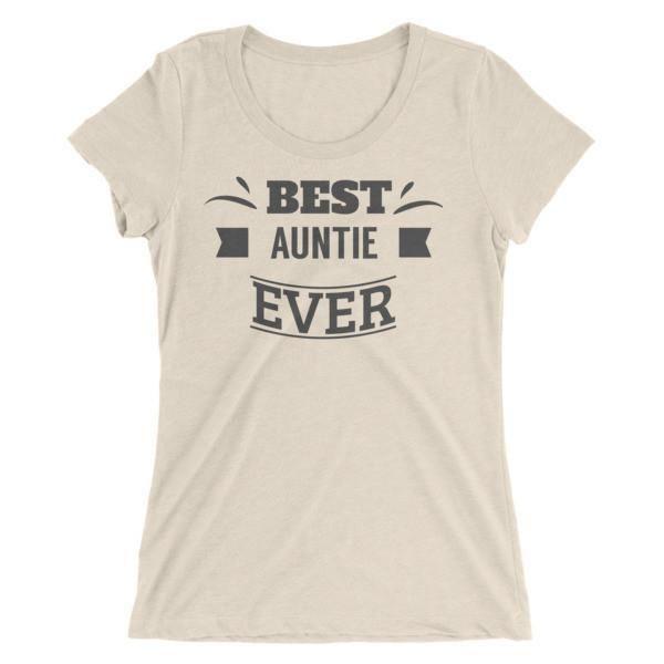 Women's Best Auntie ever Ladies' Aunt gift T-Shirt