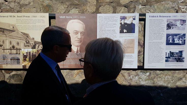 Delet | Výstava: Židovské osobnosti Bratislavy