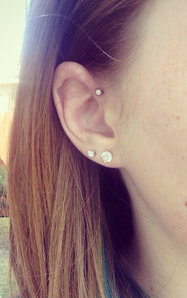 Best 25 Piercing Ohr Helix Ideas On Pinterest