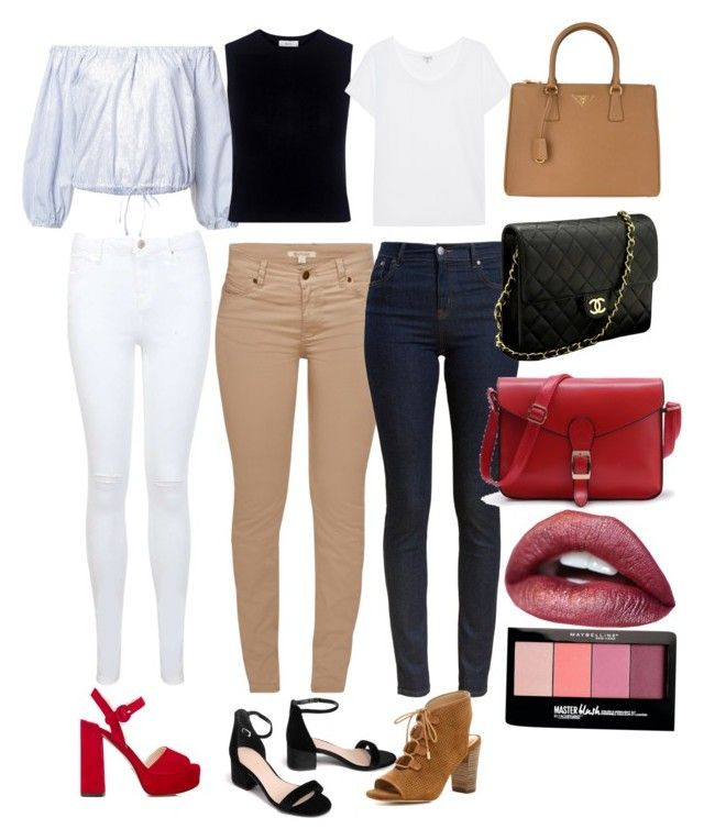 Sin título #10 by julygm93 on Polyvore featuring polyvore, fashion, style, Sea, New York, Splendid, A.L.C., Barbour, Miss Selfridge, Prada, WithChic, Chanel, Maybelline and clothing