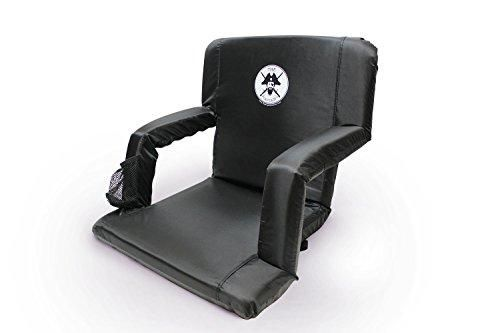 The Captain Chair-Extra Wide Stadium Seat for Boats, Beaches, Bleachers or Benches-Portable