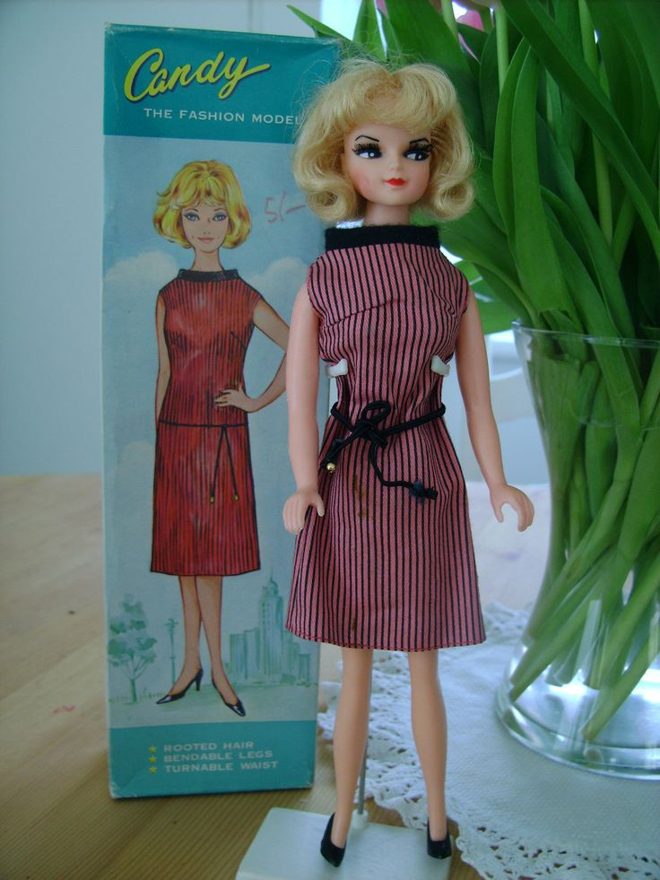 Vintage Candy Fashion Doll VINTAGE FASHION DOLL CANDY