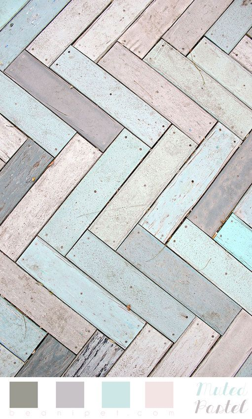 Muted pastels, colors for a nursery. l