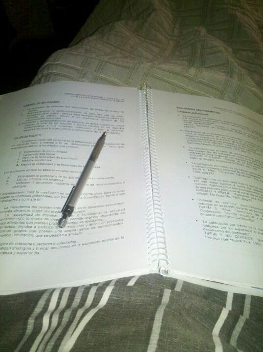Estudiando #LateAtNight