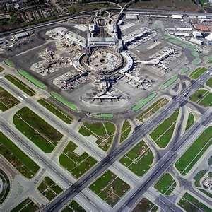 Aeroporto internacional de San Francisco (SFO), San Francisco, CA, USA
