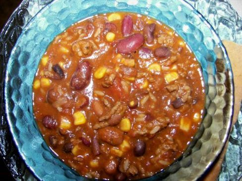 Firewater Chili~ Contemporary Southwest Native American Recipe Recipe