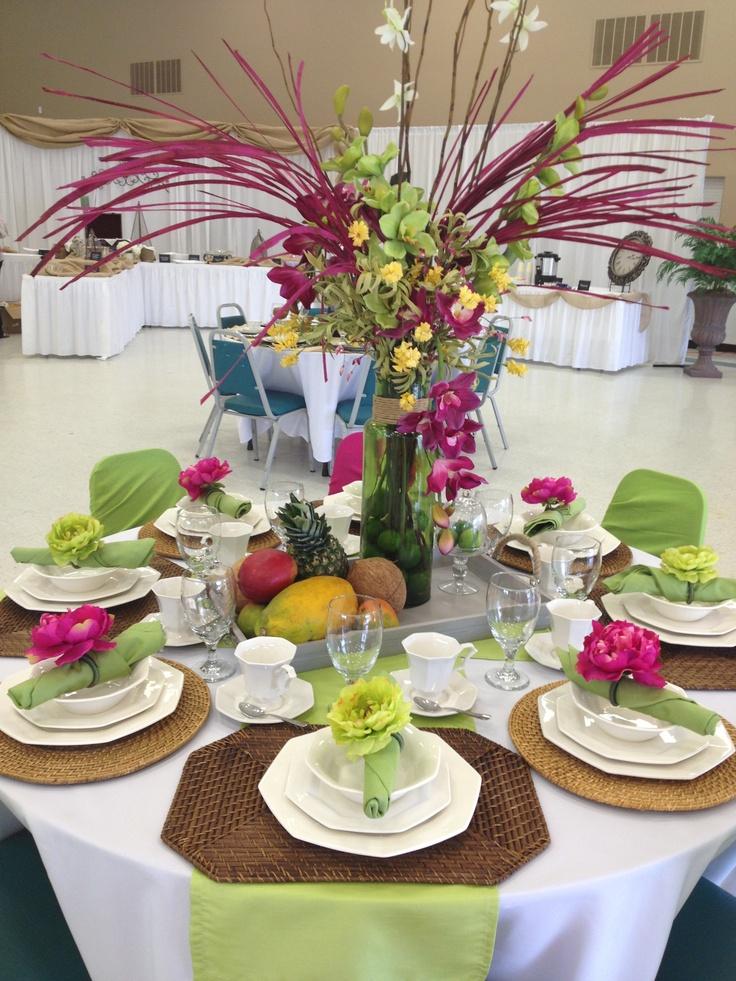 Island Dreams Tea Party Table Lsc Ladies Tea Party