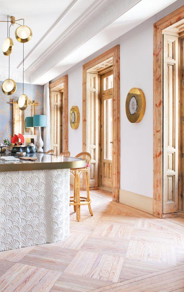 Espacio Samsung Contemporary Home Decor Blue Interior Design