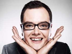 Alan Carr performed at Glasgay! in 2003 and 2004