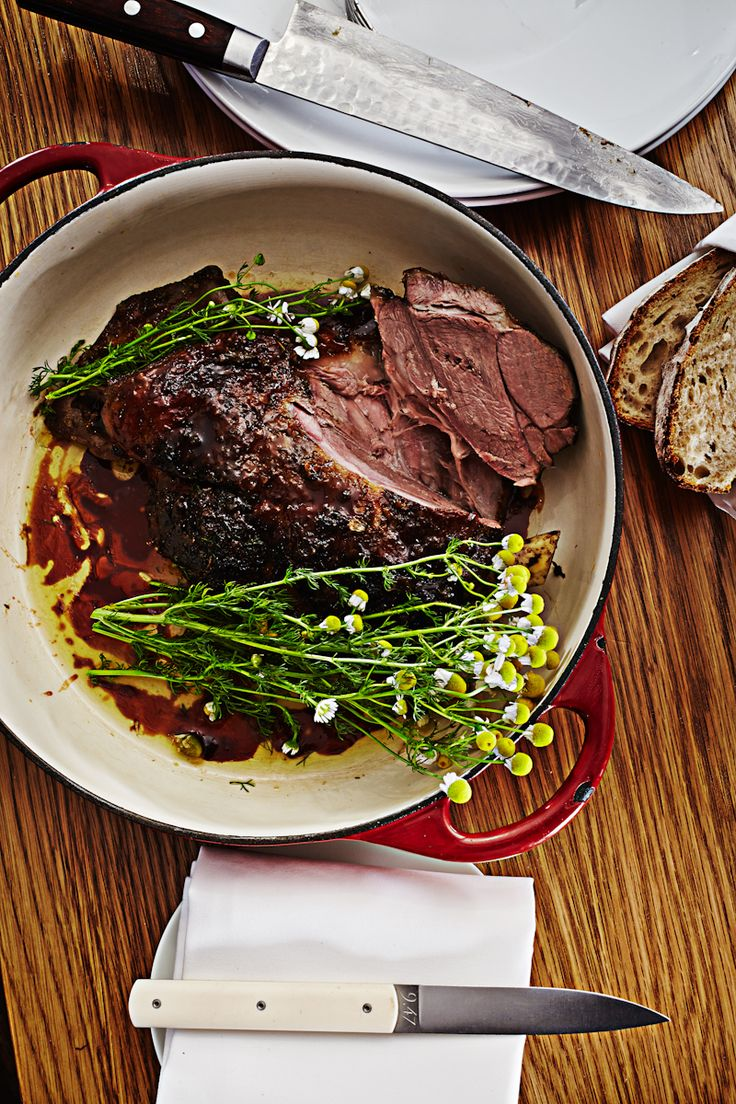 Lamb shoulder cooked in chamomile from Pei Modern, Four Seasons Hotel Sydney.