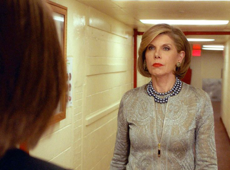 Christine Baranski, The Goodwife, Series Finale