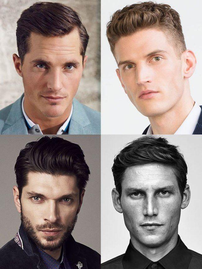 Hairstyle For Triangle Face Shape Male | Gaya rambut wajah ...