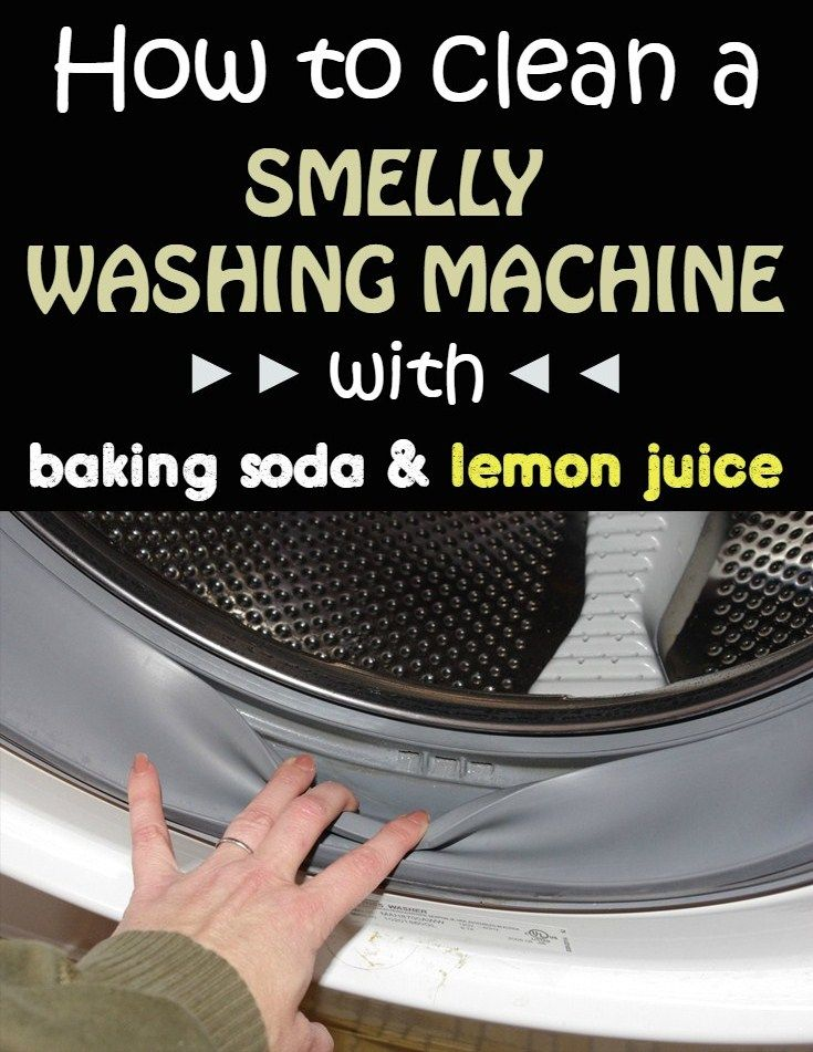 baking soda vinegar washing machine