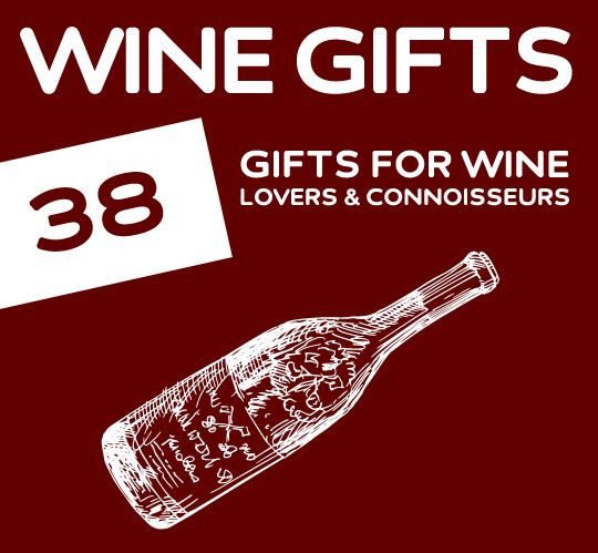 Great list of unique gift ideas for wine lovers.