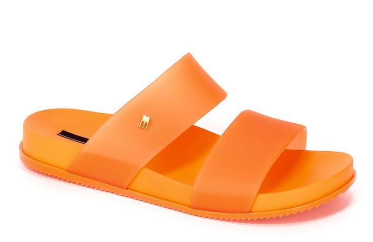Klapki Damskie Letnie Melissa M31613-01871 Orange | Eurobuty
