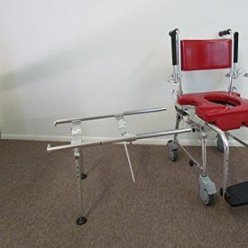 The GO-Anywhere portable Commode, Shower 'n Tub Chair® is a portable shower chair that consists of two sections: The rolling section has four, 5″-diameter casters, which enables its occupant to be wheeled from his or her bed to over the toilet and into a roll-in shower. Where a roll-in shower is unavailable, the rolling section […]