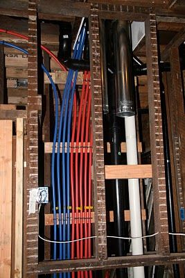 Pin by breck winokur on welcome home pinterest for Using pex for drain lines