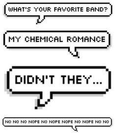 March 22, 2013-infinity, cuz Killjoys never die. Happy My Chemical Romance day!! Anyone need a Kleenex?