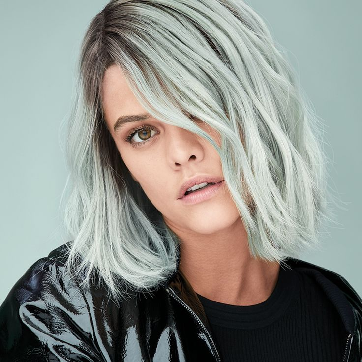 Silver Green Root Stretch