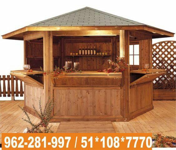Las 25 mejores ideas sobre bebidas congeladas en for Kioscos de madera baratos