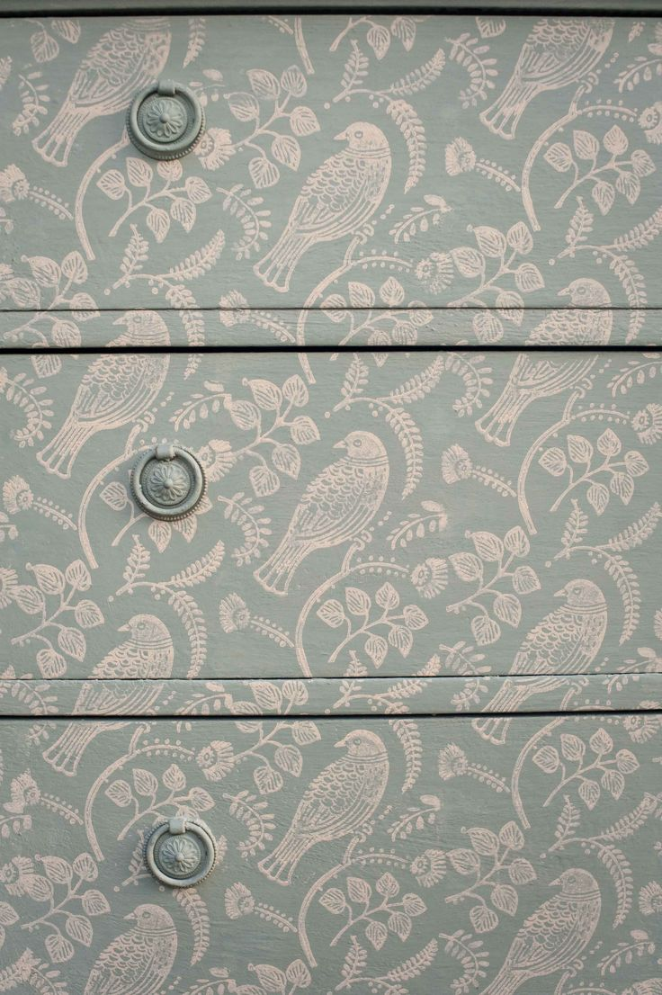 The 25 best patterned paint rollers ideas on pinterest paint chest printed with tuvi patterned paint roller from the painted house amipublicfo Images