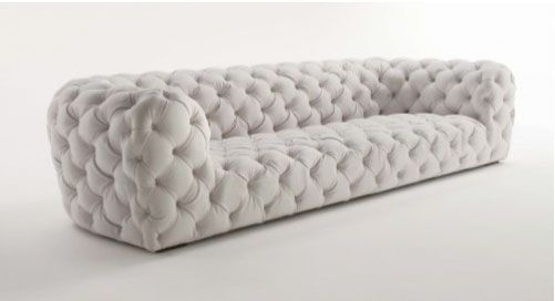Love this couch, but I don't think it would work as well in a different color. White is just not practical.