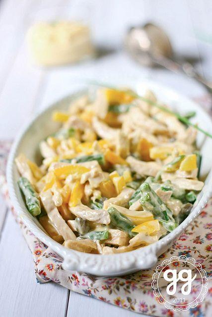 insalata di pollo alla maionese