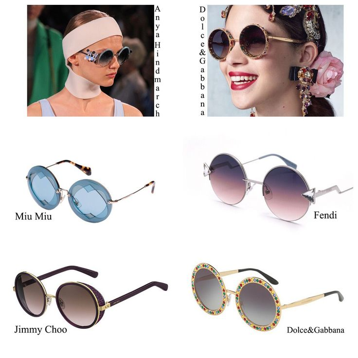 Round Summer Sunglasses 2017