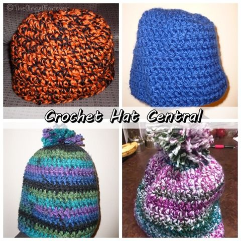 Crochet Pattern Central Angels : 50 best images about HATS, hats and more Hats! on ...