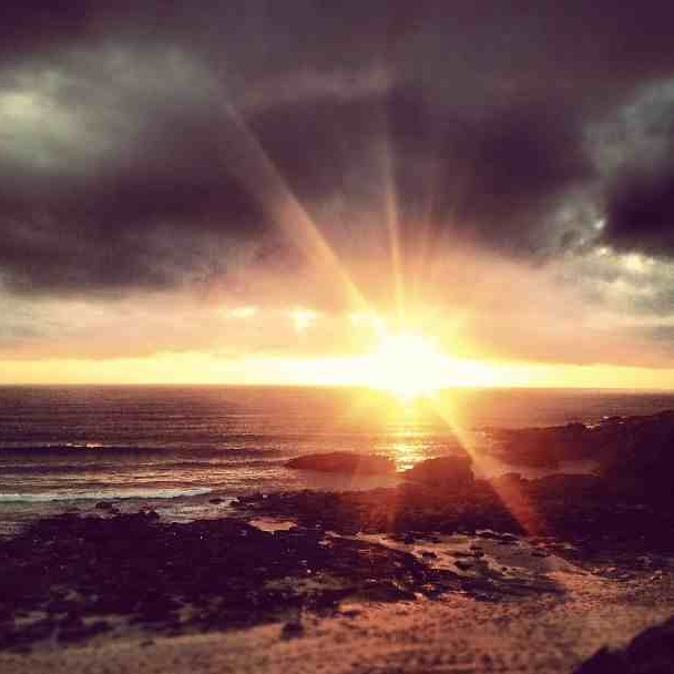 Sunset - Fistral Beach, Newquay, Cornwall