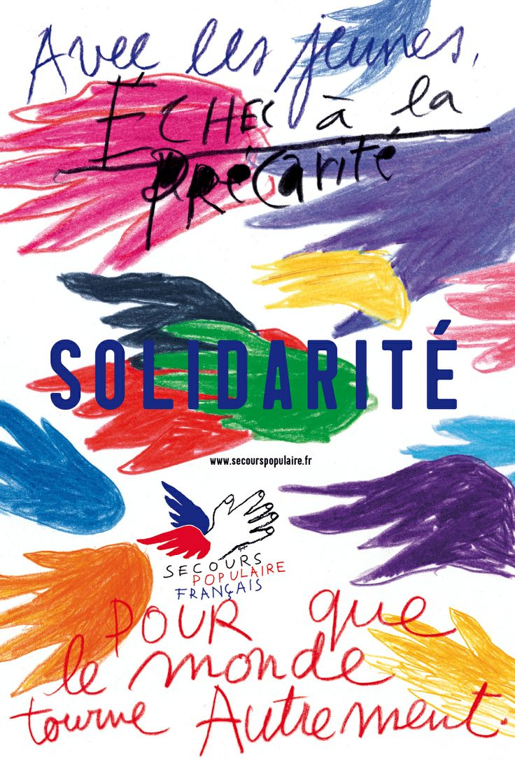 Secours populaire (2010) Pierre Bernard, promote a French anti-poverty charitable institution (Public Service Campaigns)